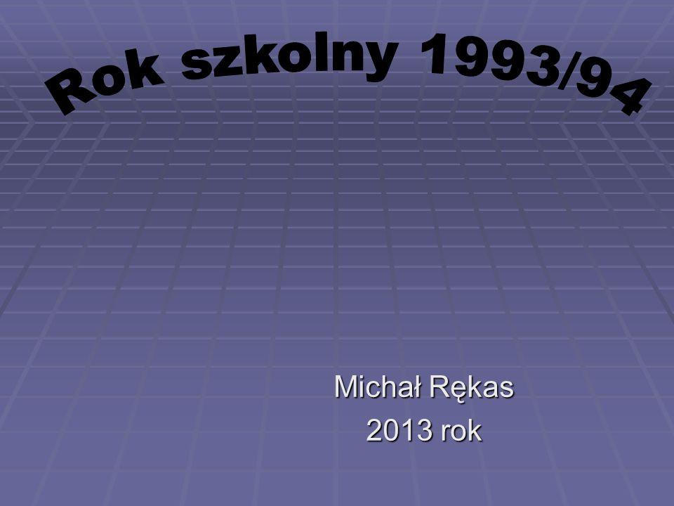 Michał Rękas 2013 rok