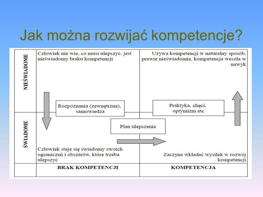 Jak można rozwijać kompetencje