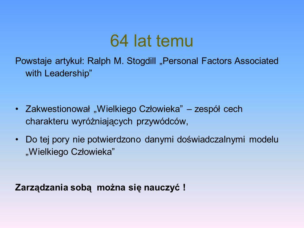 Zanim pójdziemy dalej… Przywództwo a zarządzanie – jaka jest różnica.