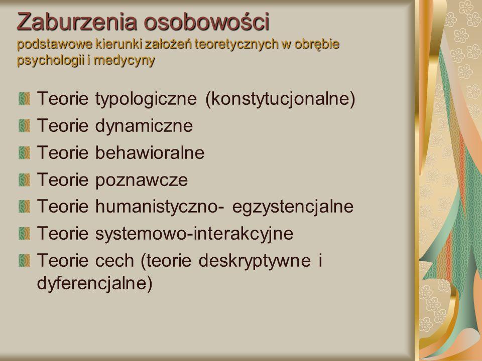 """Typ """"bordeline (z pogranicza): F.60.3 Typ """"bordeline (z pogranicza): Niepohamowane próby uniknięcia prawdziwego lub wyobrażonego odrzucenia (lęk przed odrzuceniem), Postawa narcystyczna, Fiksacja na fazie fallicznej rozwoju psychoseksualnego Stany przejściowe (objawy dysocjacyjne, nastawienia urojeniowe), przejściowe epizody psychotyczne (objawy rozszczepiania) Mechanizm rozszczepiania: nie są w stanie integrować uczuć dobrych i złych wobec jednego obiektu (idealizacja-dewaluacja), Głód emocjonalny (żądanie miłości, roszczeniowość, potrzeba natychmiastowej gratyfikacji, nieświadoma tendencja do wyrównywania krzywd z dzieciństwa,"""