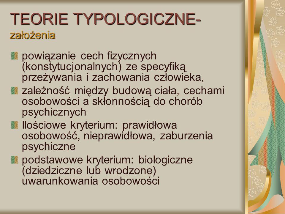 """Typ """"bordeline (z pogranicza): F.60.3 Typ """"bordeline (z pogranicza): groźby lub próby samobójcze, relacje z ludźmi (biegunowe): od idealizacji do dewaluacji (miłość, fascynacja-odrzucenie, nienawiść) Labilność nastroju (dysforia, irytacja, lęk, depresja), niezrównoważone emocje, Zachowania manipulacyjne (uwodzenie, kokieteria), szantaż emocjonalny, Nietolerancja odmienności, zależnościowe związki, symbiotyczne relacje (uwieść-wykorzystać, nadużyć), Sadystyczne tendencji, z upokarzaniem drugiej osoby, Zaburzone granice """"ja - """"inni , Silne popędy (seks., agresji, perwersyjne) Identyfikacja projekcyjna, wyparcie"""