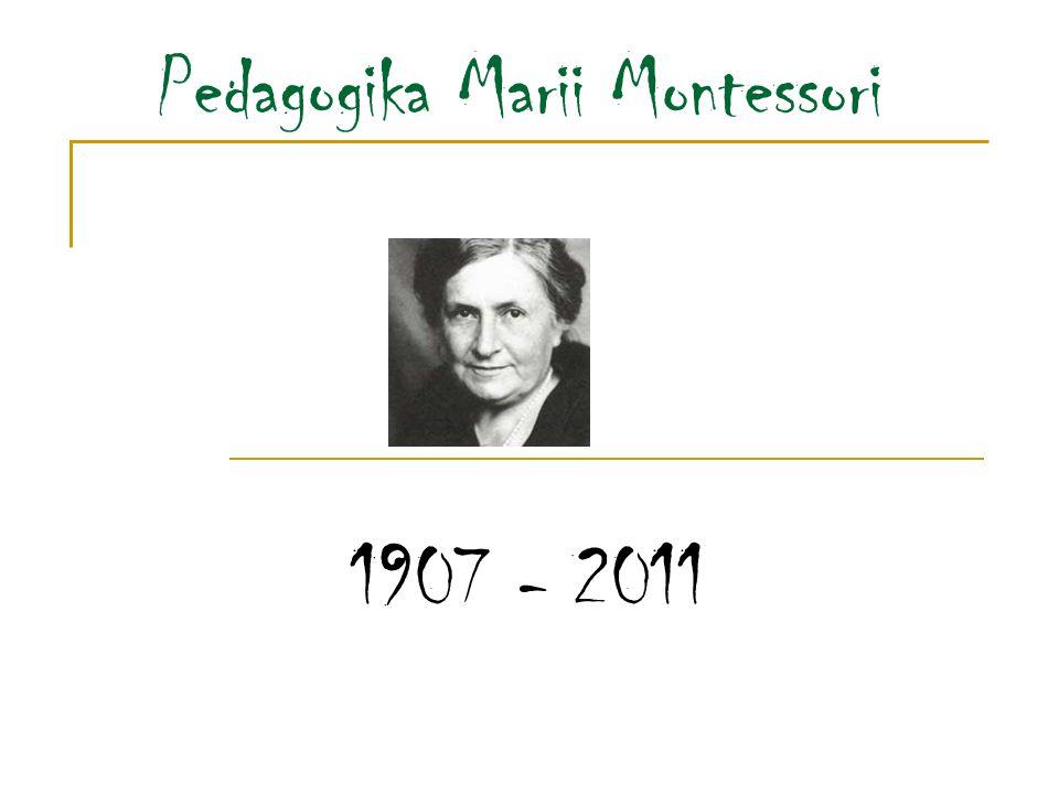 System pedagogiczny, który… został stworzony przez włoską lekarkę, naukowaca Marię Montessori na początku XIX wieku został zbudowany na gruncie filozofii chrześcijańskiej.