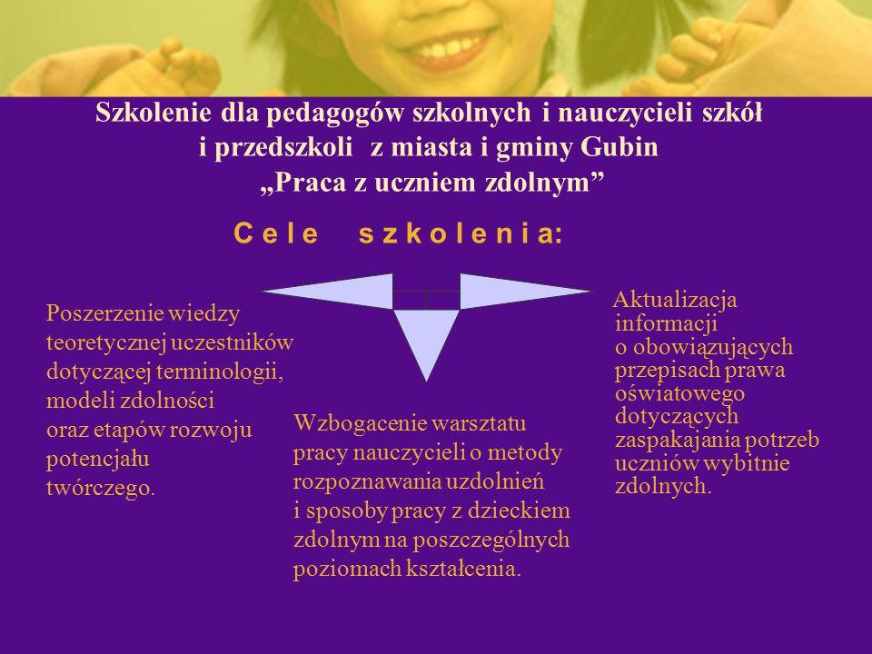 """Zajęcia warsztatowe dla rodziców - """"Wspieranie rozwoju dziecka uzdolnionego ."""