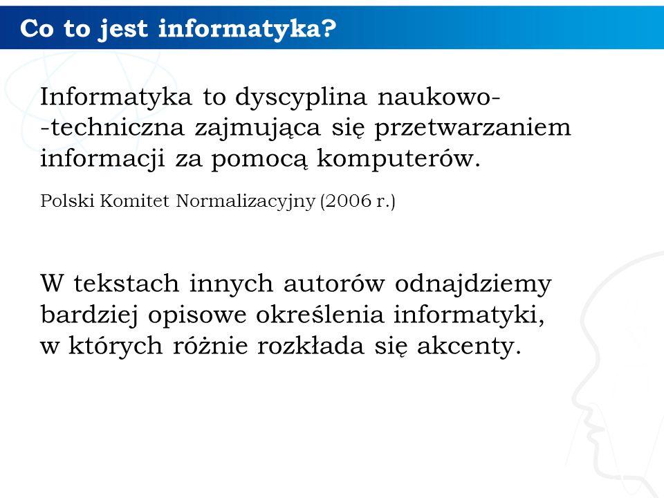 Studia informatyczne 16 Studia informatyczne