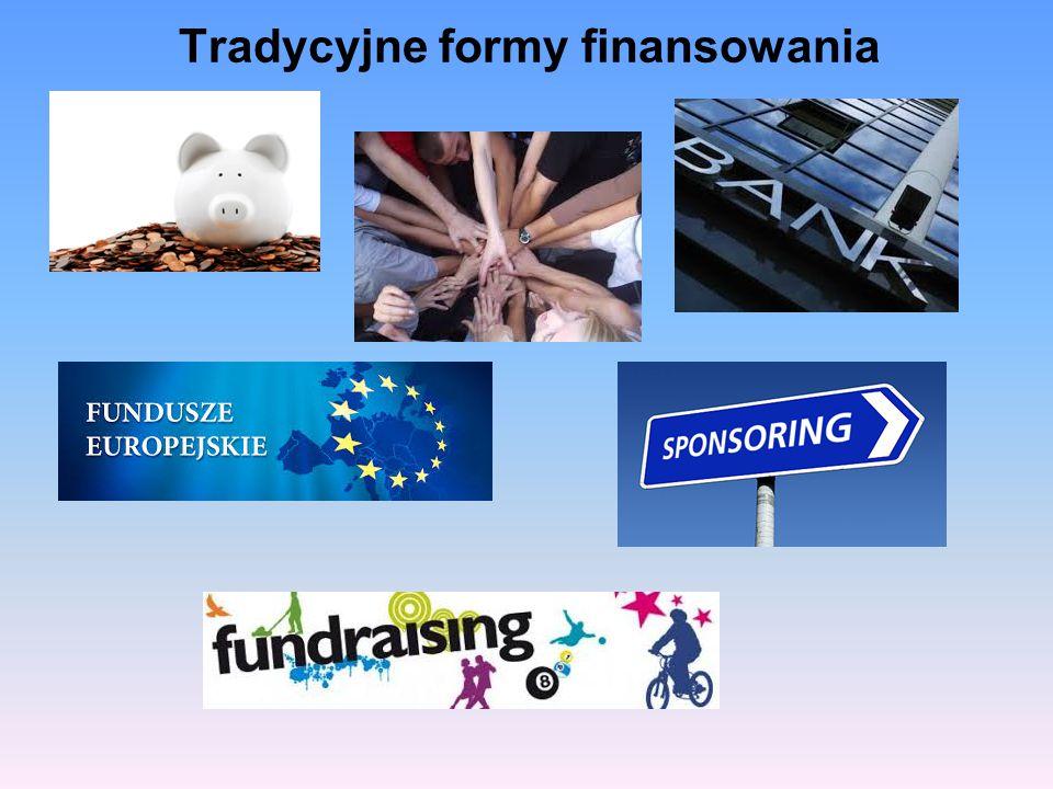 Tradycyjne formy finansowania