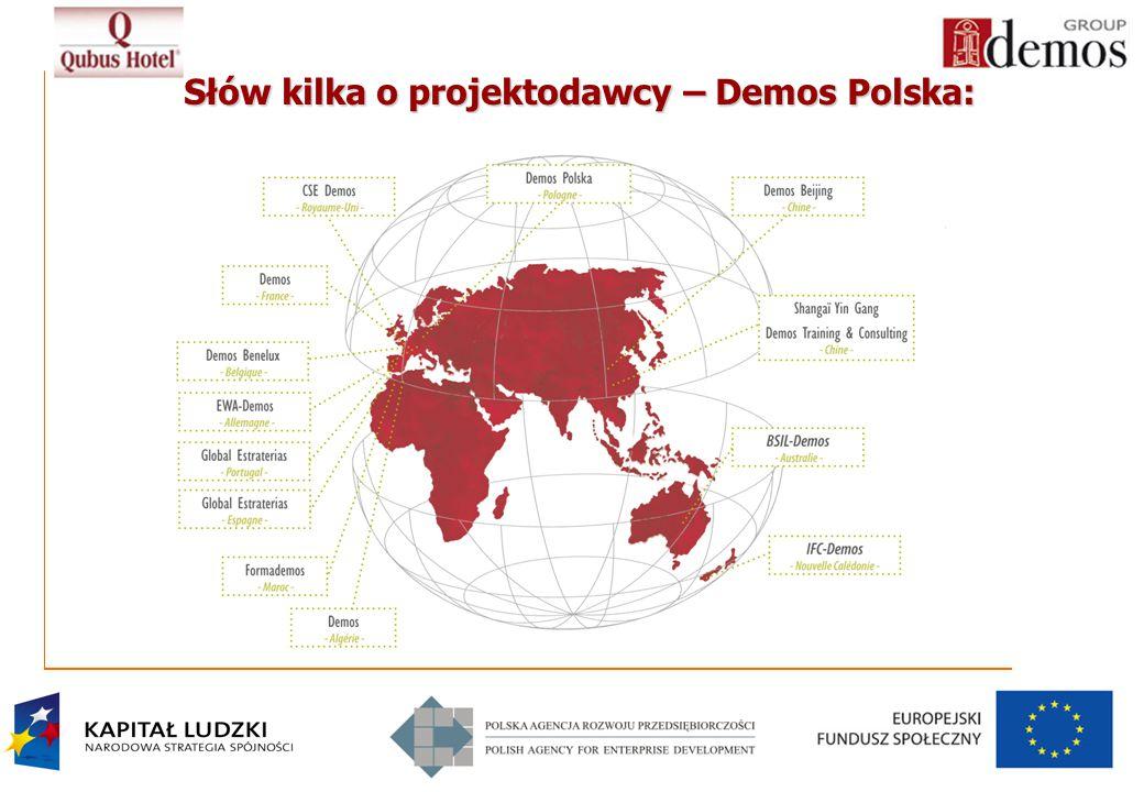 3 Słów kilka o projektodawcy – Demos Polska: