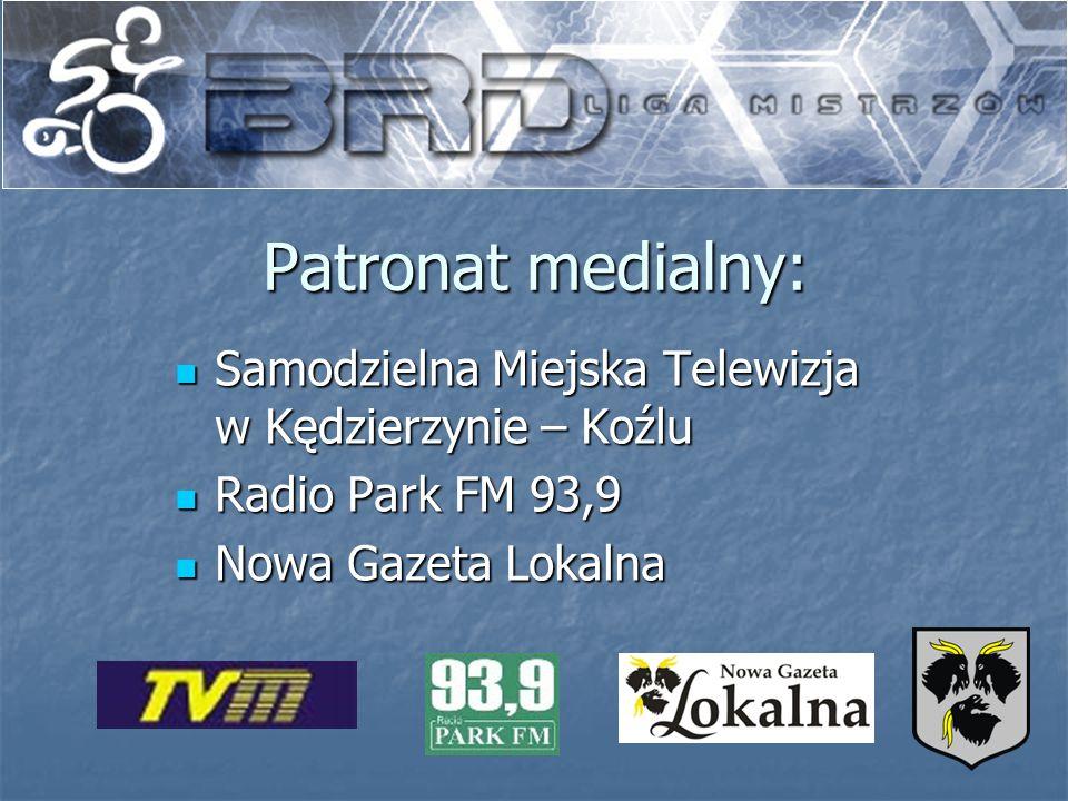 Patronat medialny: Samodzielna Miejska Telewizja w Kędzierzynie – Koźlu Samodzielna Miejska Telewizja w Kędzierzynie – Koźlu Radio Park FM 93,9 Radio