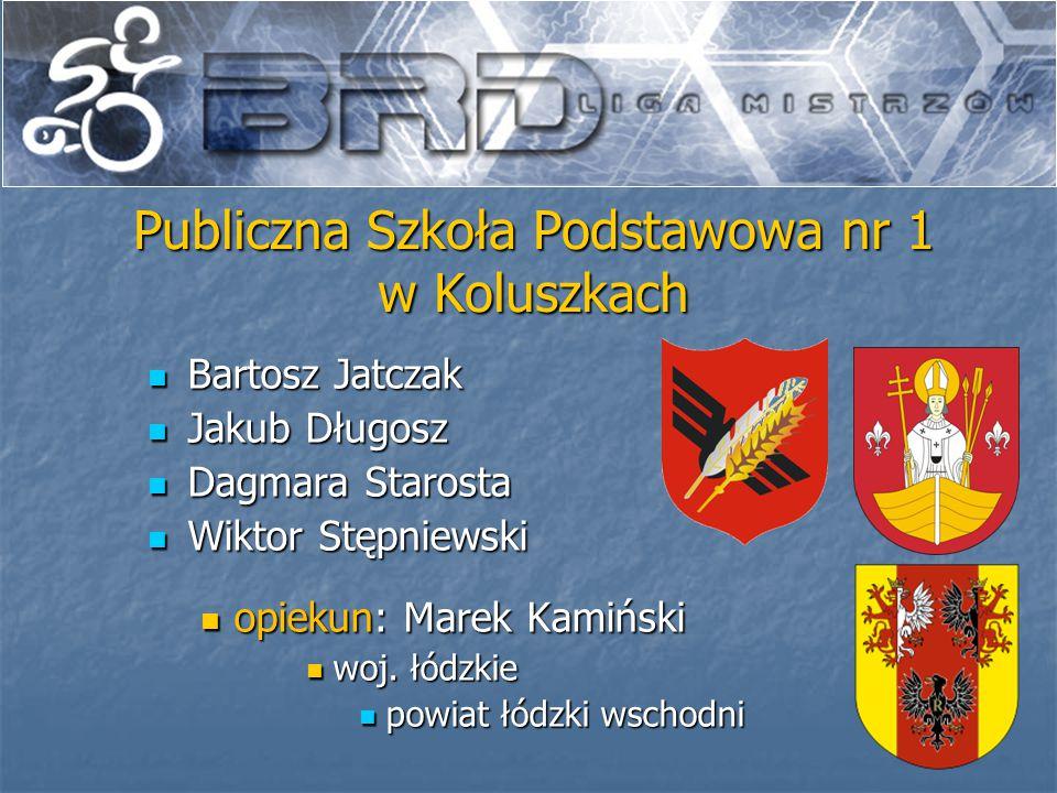 Michał Drabik Michał Drabik Kacper Smyczek Kacper Smyczek Jakub Spała Jakub Spała opiekun: Jerzy Pecyna opiekun: Jerzy Pecyna woj.