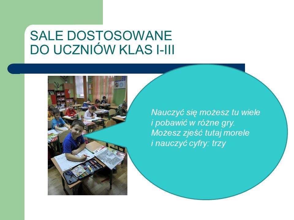 OSIĄGAMY WYSOKIE WYNIKI ZE SPRAWDZIANU PO SZKOLE PODSTAWOWEJ Nauczyciele matematyki i języka polskiego systematycznie prowadzą fakultety dla uczniów klas szóstych przygotowujące do sprawdzianu, w którym osiągają wysokie wyniki.