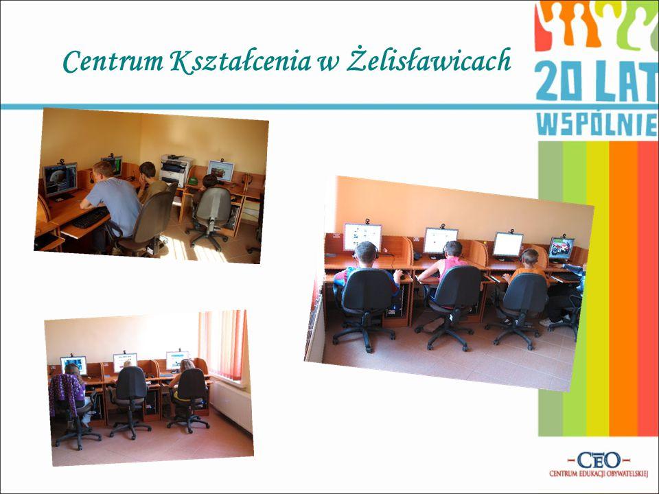 Centrum Kształcenia na Odległość na Wsiach – Centrum Kształcenia w Wojkowicach Kościelnych Centrum wyposażone jest m.