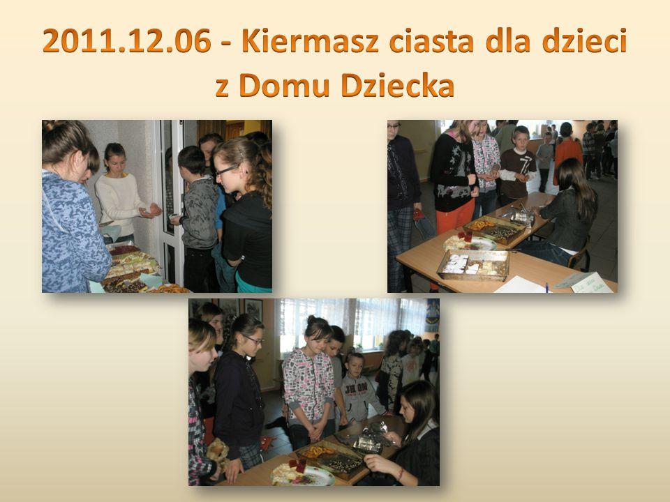 Uczniowie naszej szkoły wraz z Panią Agnieszką Lewandowską niosą pomoc i radość w próg Domu Dziecka w Ostrołęce.