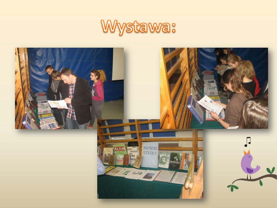 Dużym zainteresowaniem cieszyła się wystawa książek przygotowana z pomocą Pani Agnieszki Lewandowskiej.