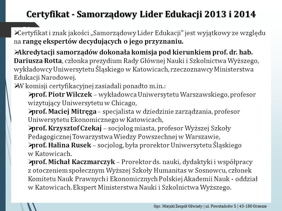 50 Opr.Miejski Zespół Oświaty | ul.