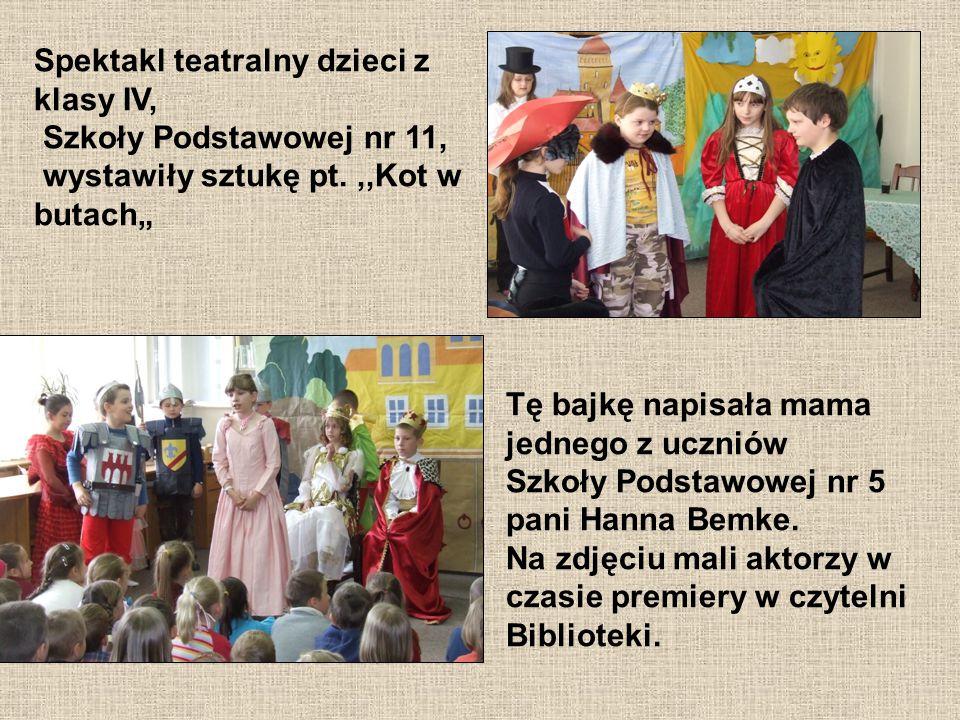 Na zdjęciu grupa aktorów z Liceum Ogólnokształcącego w Wejherowie im.