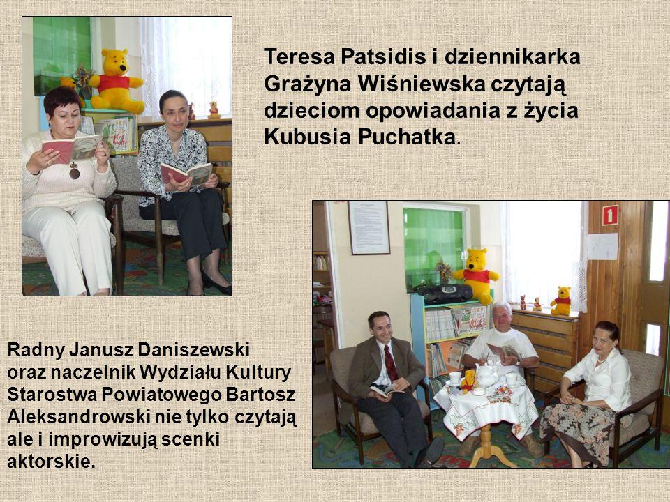 Sierżant Aneta Kwidzyńska spotyka się z dziećmi aby nie tylko rozmawiać o książkach, ale również o bezpieczeństwie najmłodszych.