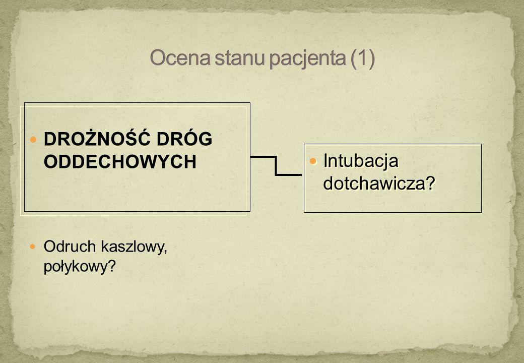  środki antycholinergiczne nadciśnienie z tachykardią antyhistaminiki, atropina, TCAD  pobudzenie receptorów nikotynowych związki fosforoorganiczne, nikotyna inne – zespół odstawienia