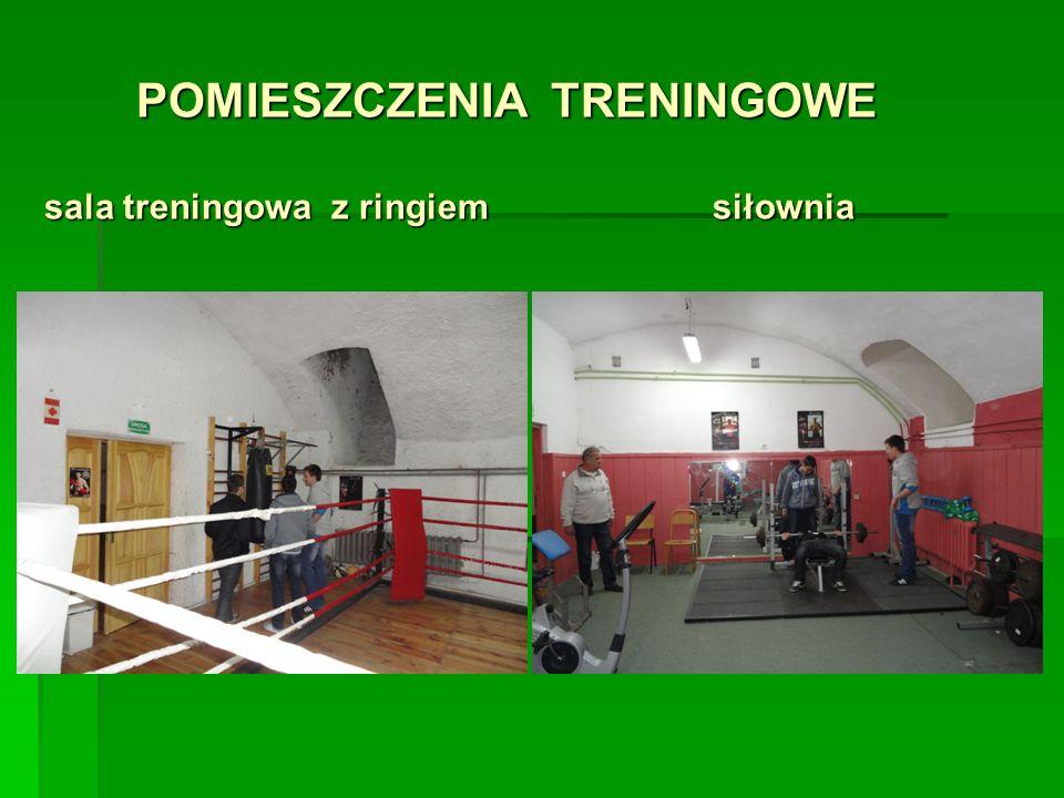 POMIESZCZENIA TRENINGOWE sala treningowa z ringiem siłownia POMIESZCZENIA TRENINGOWE sala treningowa z ringiem siłownia