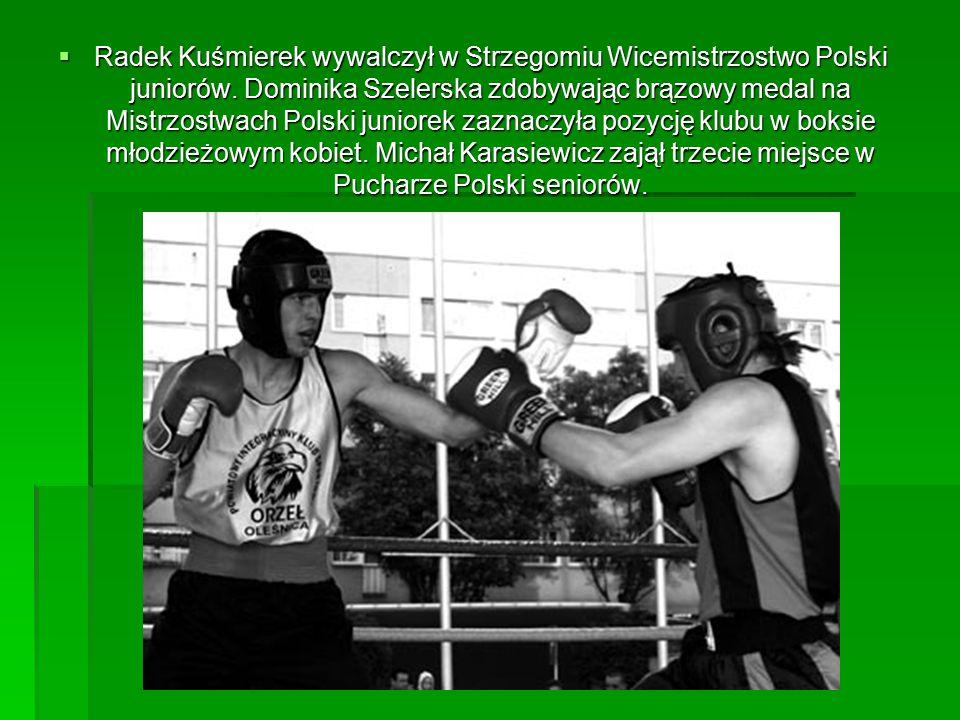  Radek Kuśmierek wywalczył w Strzegomiu Wicemistrzostwo Polski juniorów.