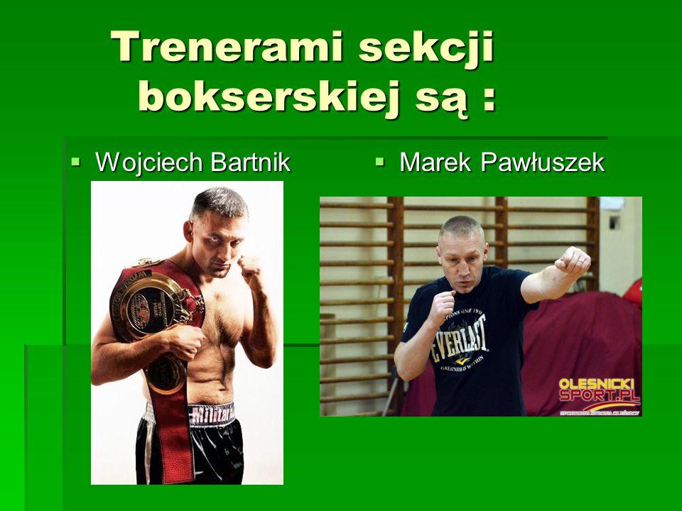 """Utalentowani zawodnicy klubu """"Orzeł : Wojciech Bartnik i Marek Matyja"""