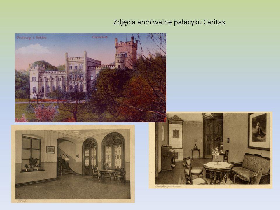 Zdjęcia archiwalne pałacyku Caritas