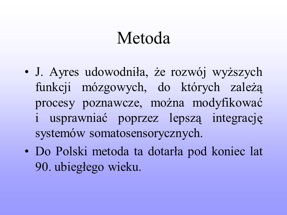 Metoda J.