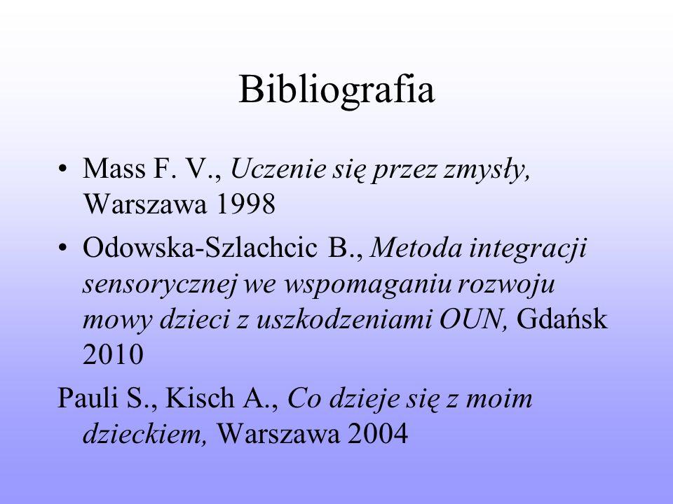 Bibliografia Mass F.