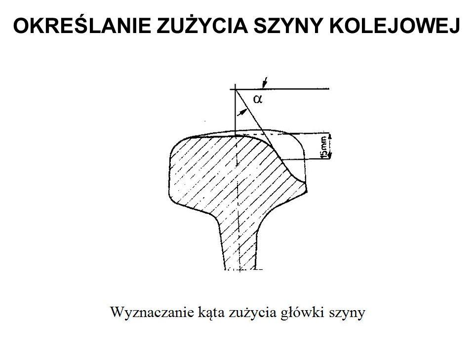 ZALETA: umożliwia pomiary dla dwóch typów szyn stosowanych obecnie w Polsce