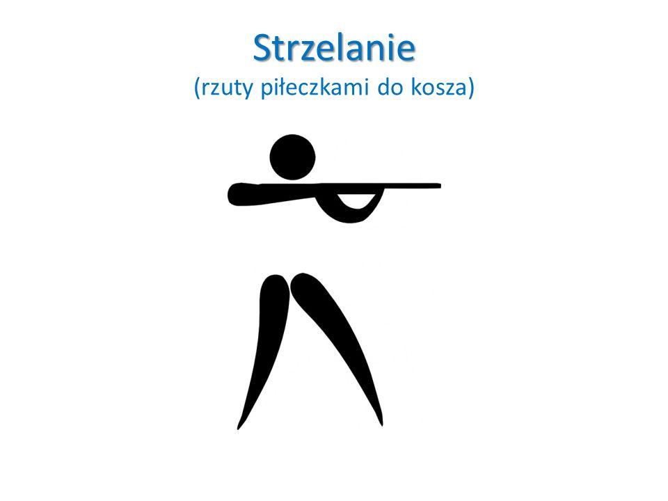 Strzelanie Strzelanie (rzuty piłeczkami do kosza)