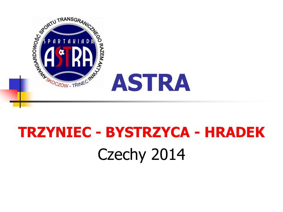 ASTRA TRZYNIEC - BYSTRZYCA - HRADEK Czechy 2014