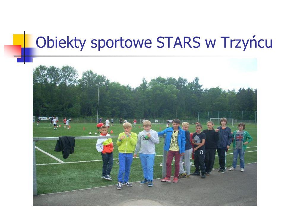 Obiekty sportowe STARS w Trzyńcu