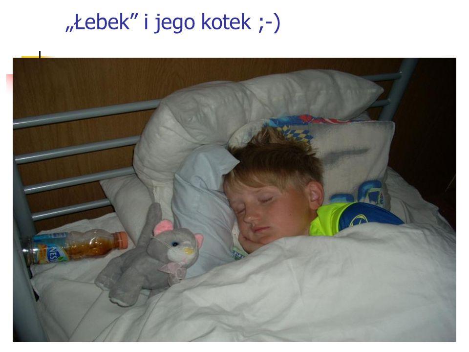 """""""Łebek"""" i jego kotek ;-)"""