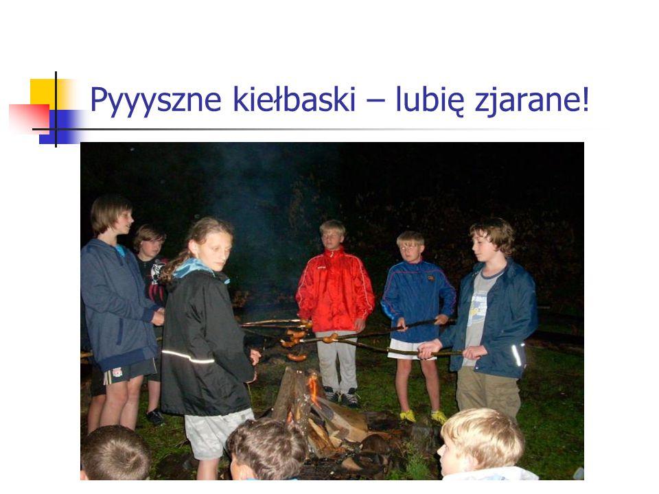 Pyyyszne kiełbaski – lubię zjarane!