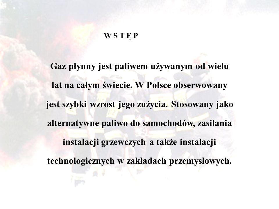 Gaz płynny jest paliwem używanym od wielu lat na całym świecie. W Polsce obserwowany jest szybki wzrost jego zużycia. Stosowany jako alternatywne pali