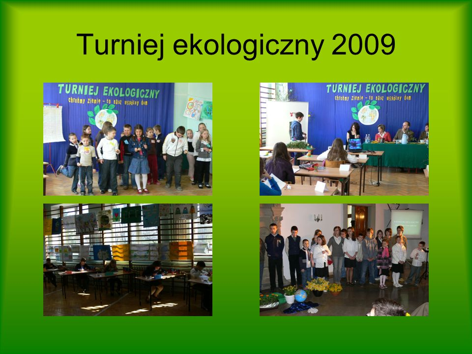 Turniej ekologiczny 2009