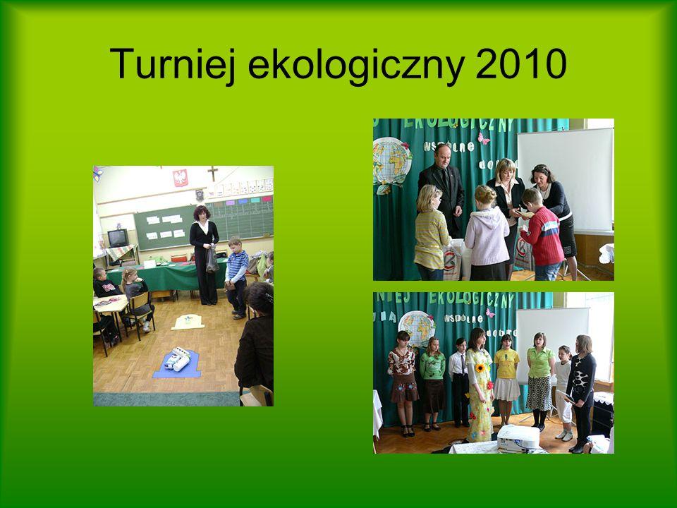 Turniej ekologiczny 2010