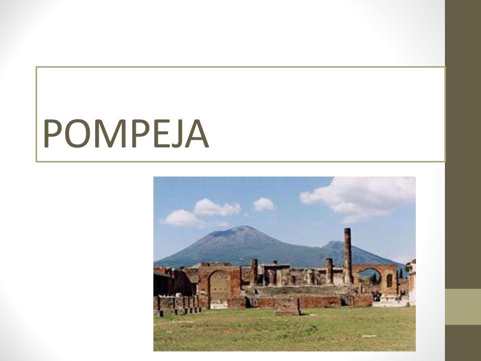 WYGLĄD Pompeje uważane były za jedno z najatrakcyjniejszych miast Starożytnego Rzymu, w pobliżu Neapolu.