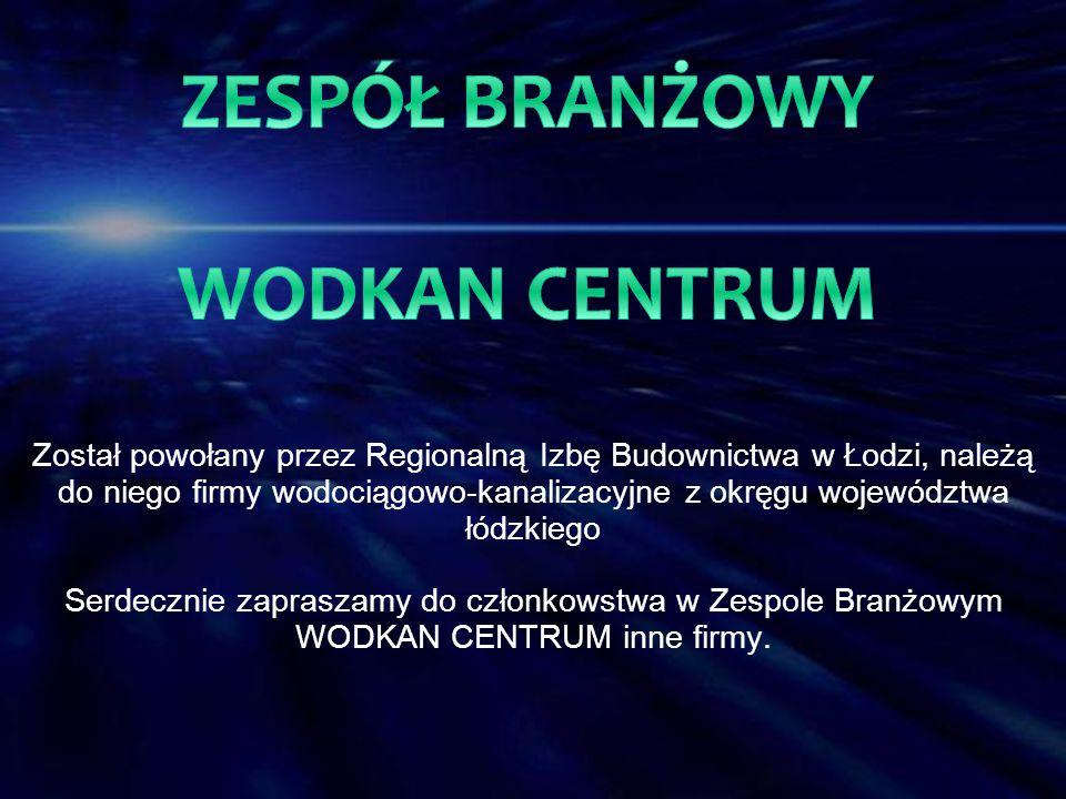 Został powołany przez Regionalną Izbę Budownictwa w Łodzi, należą do niego firmy wodociągowo-kanalizacyjne z okręgu województwa łódzkiego Serdecznie z