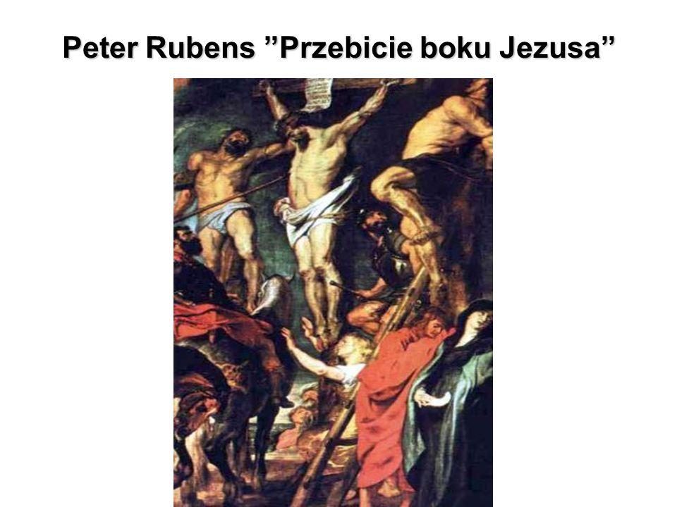 """Peter Rubens """"Przebicie boku Jezusa"""""""
