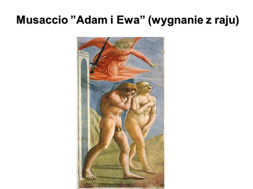 """Musaccio """"Adam i Ewa"""" (wygnanie z raju)"""