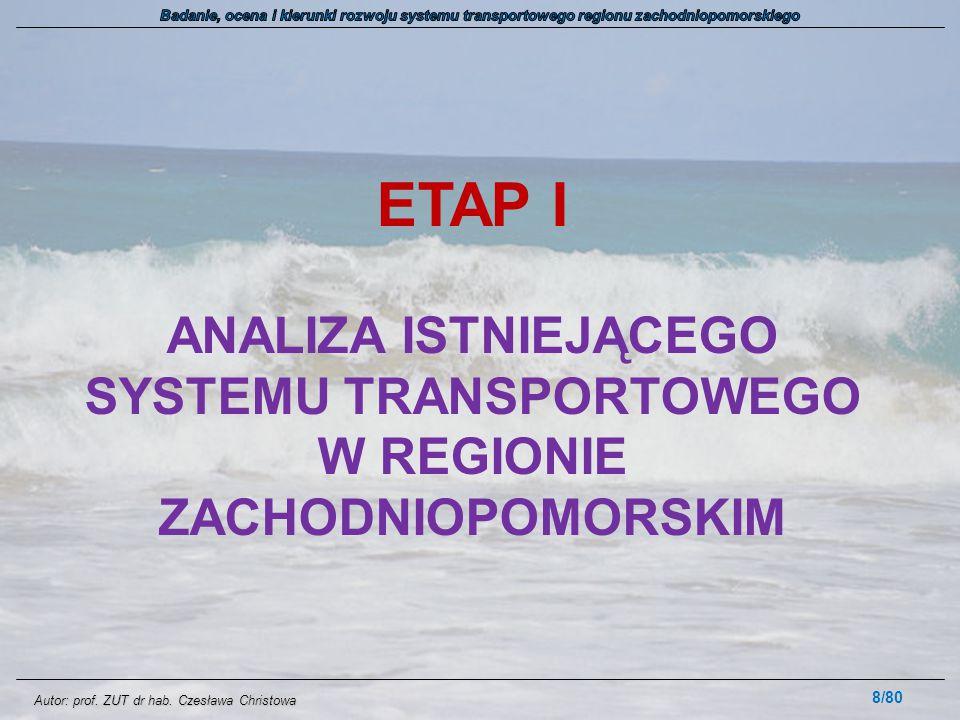 Autor: prof. ZUT dr hab. Czesława Christowa 3. PYTANIA 59/80