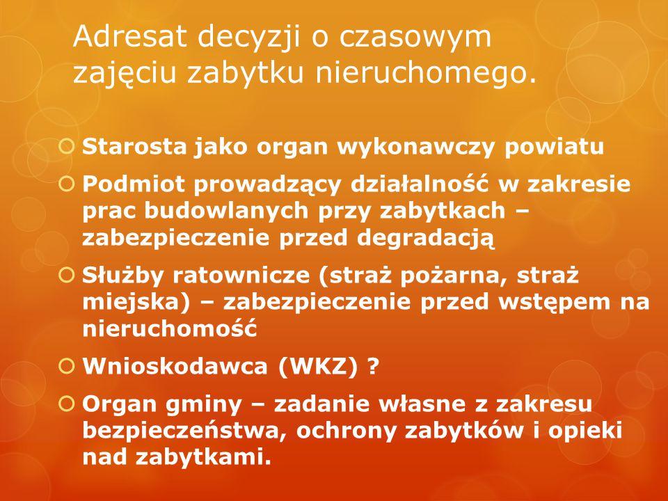 Art.50 Zadanie własne powiatu Art. 93 ust. 4. Zadania określone w art.