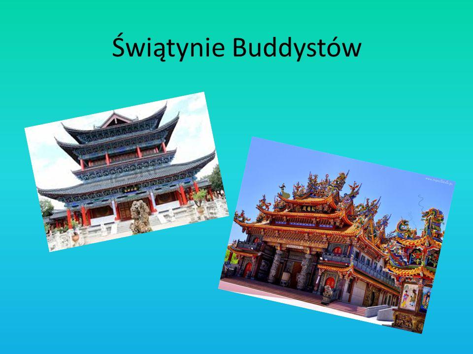Świątynie Buddystów