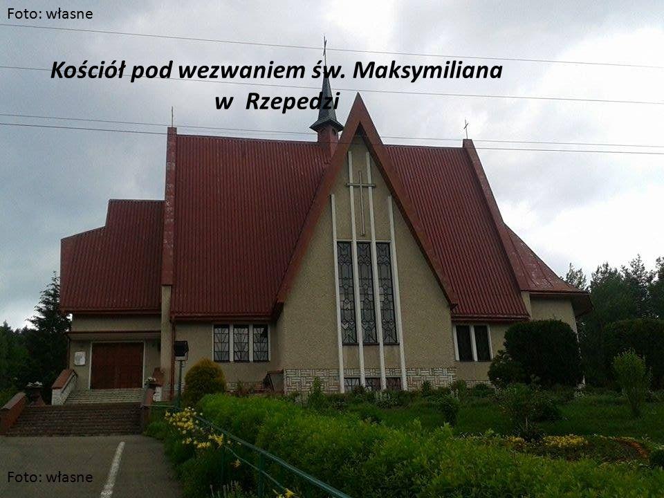 Kościół pod wezwaniem św. Maksymiliana w Rzepedzi Foto: własne