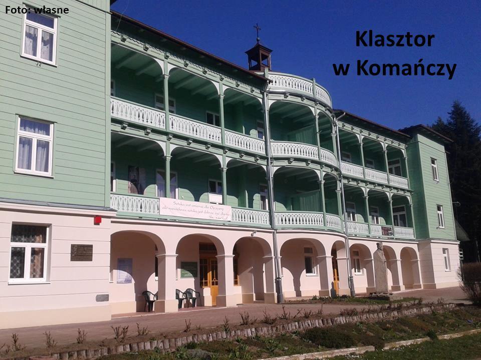 Klasztor w Komańczy Foto: własne