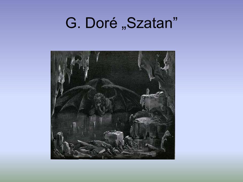 """G. Doré """"Szatan"""""""