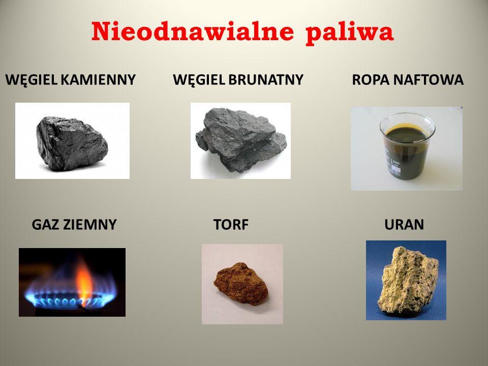 ELEKTROWNIA WĘGLOWA  Elektrownia cieplna, w której paliwem jest węgiel brunatny lub kamienny.
