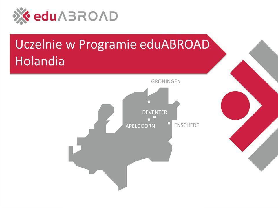 Uczelnie w Programie eduABROAD Holandia