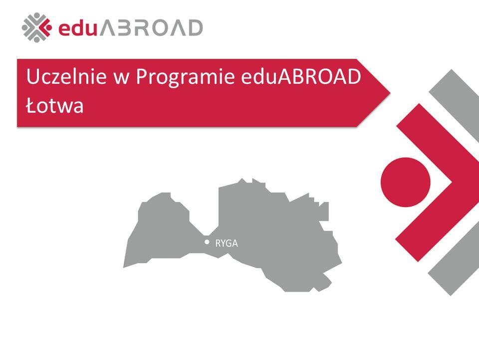 Uczelnie w Programie eduABROAD Łotwa