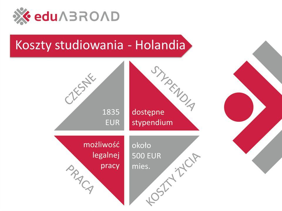 Koszty studiowania - Holandia