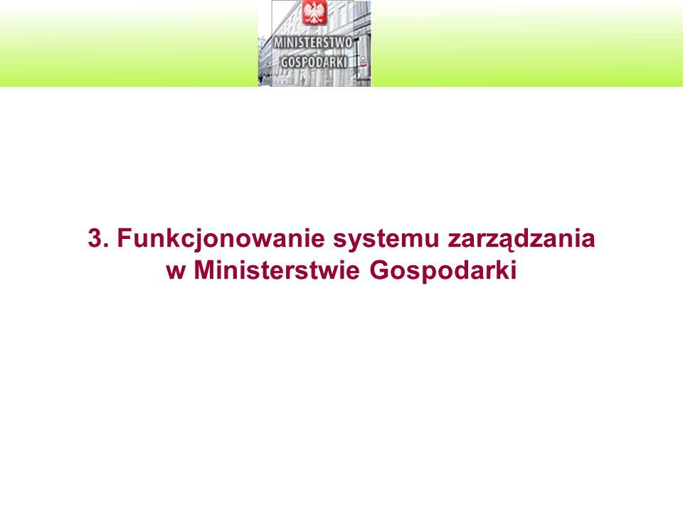 9 A.Realizacja ustaleń z dużego przeglądu zarządzania oraz z małych przeglądów zarządzania przeprowadzonych w 2008 r.